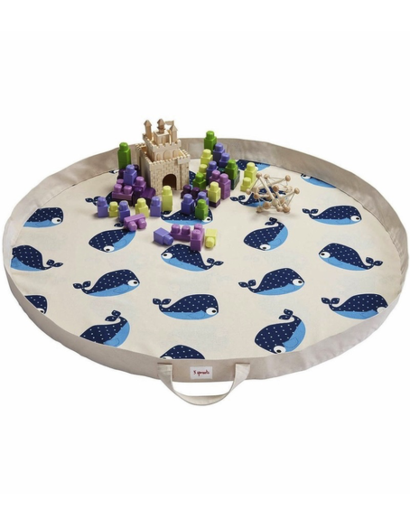 3 Sprouts Play Mat Whale