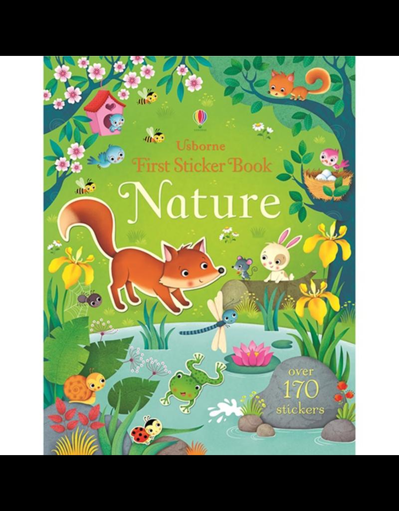 Usborne First Sticker Book: Nature