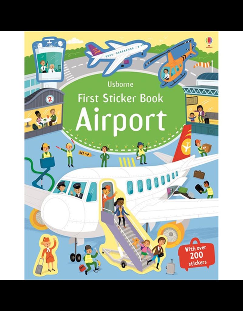 Usborne First Sticker Book: Airport