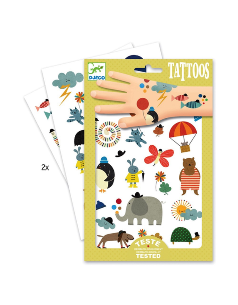 Djeco Pretty Little Things Tattoos