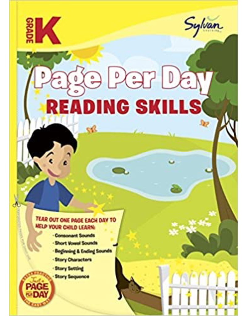 Random House Kindergarten Page Per Day: Reading