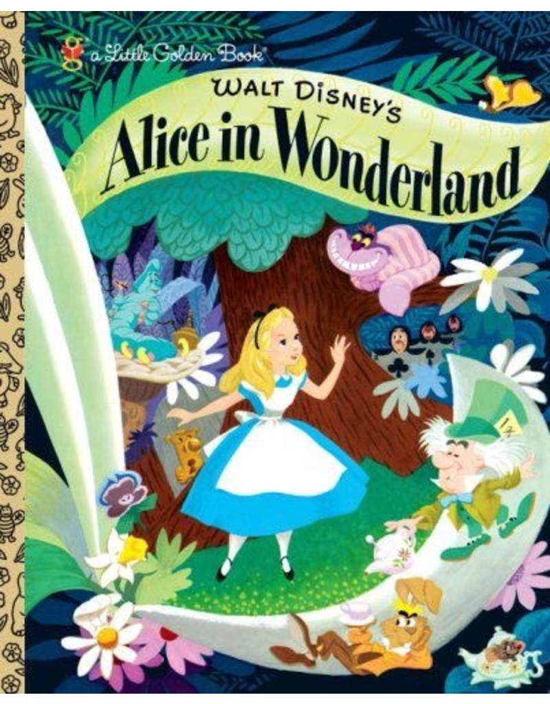 Random House Golden Book: Alice In Wonderland