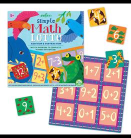 Eeboo Simple Math Lotto