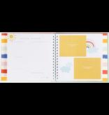 Rainbow Memory Book w/ink pad
