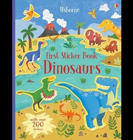 Usborne First Sticker Book Dinosaurs