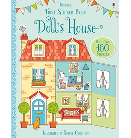 Usborne First Sticker Book: Doll's House