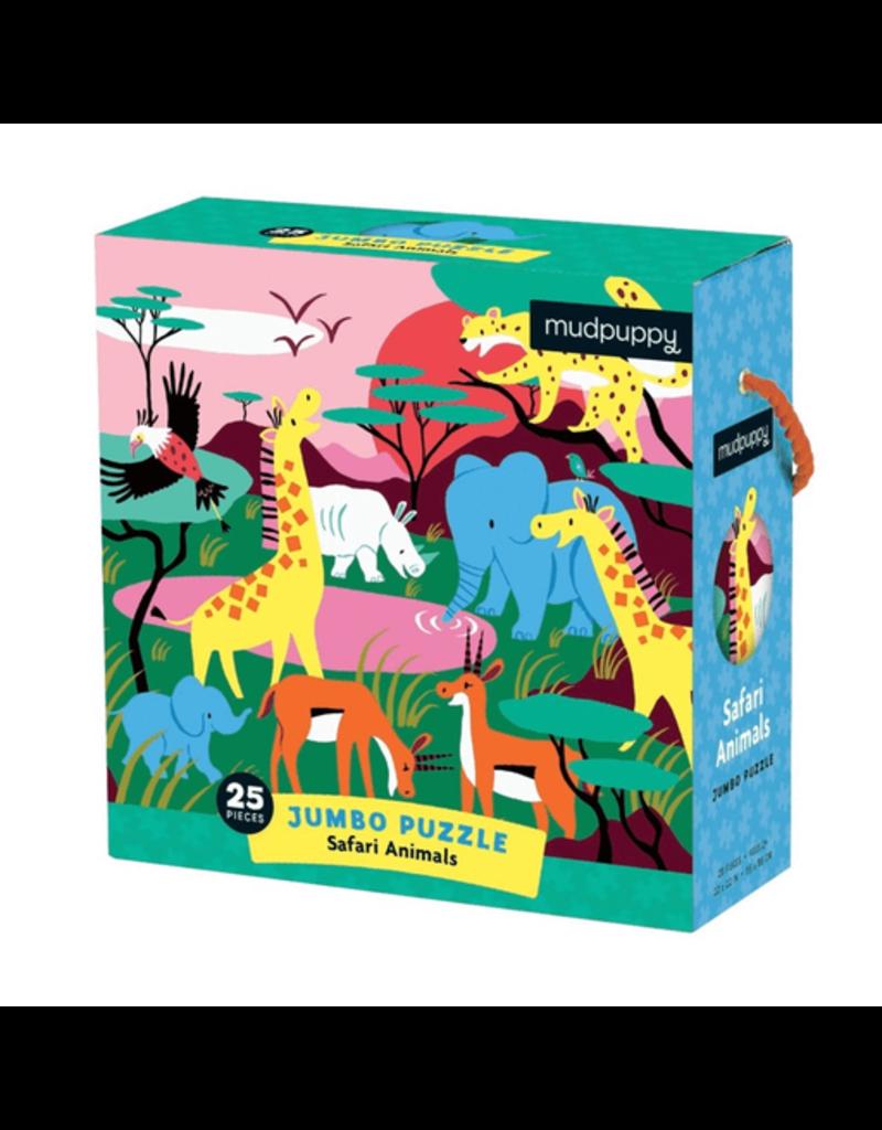 Mudpuppy Jumbo Puzzle Safari Animals, 2y+