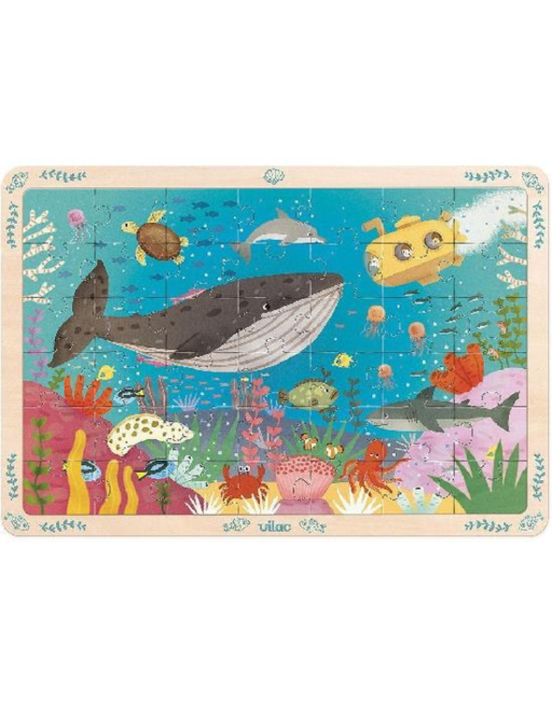 Seabeds Wooden Puzzle 42pc