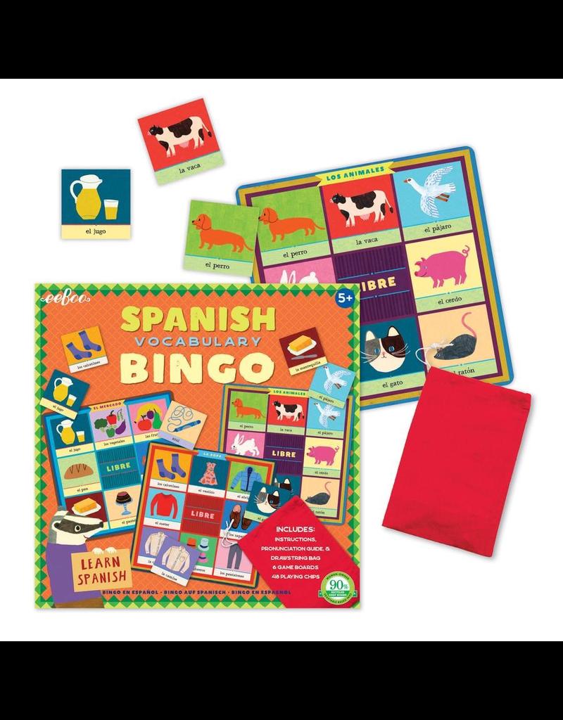 Eeboo Spanish Bingo (2nd Edition)