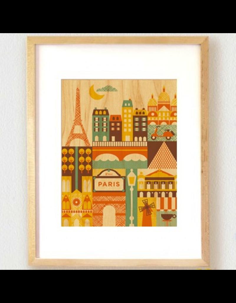 Paris Print 11x14