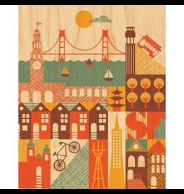 San Francisco Print 11x14
