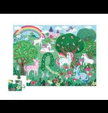 Crocodile Creek 36pc Puzzle - Unicorn Garden