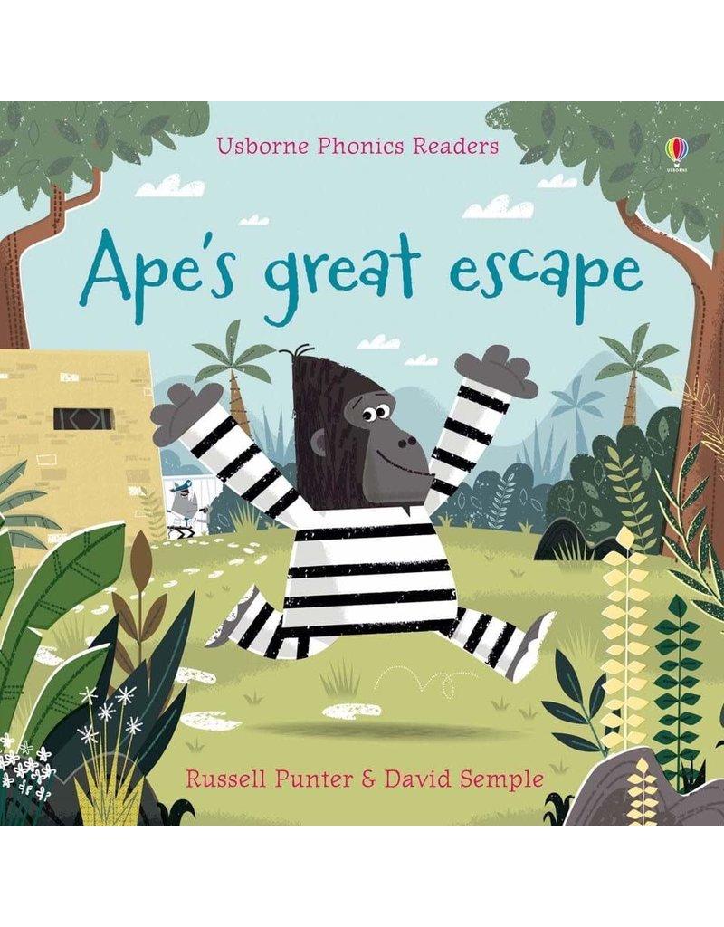 Usborne Phonics Readers: Ape's Great Escape