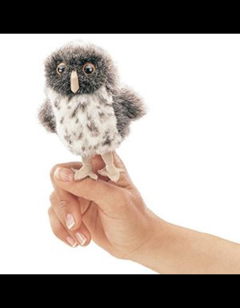 Folkmanis Finger Puppet - Spotted Owl