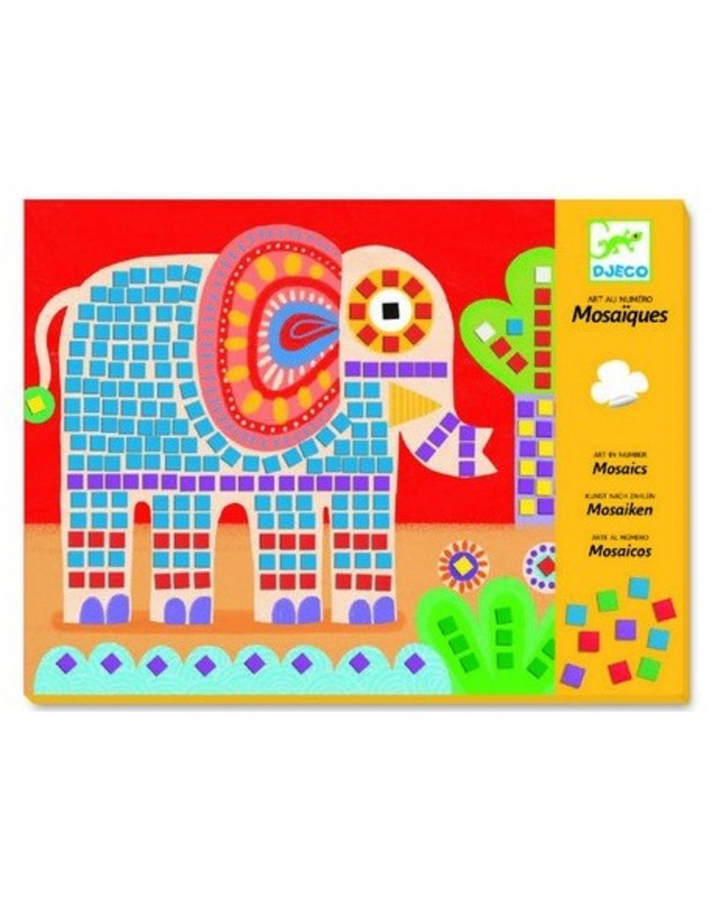 Djeco Mosaics - Elephant & Snail