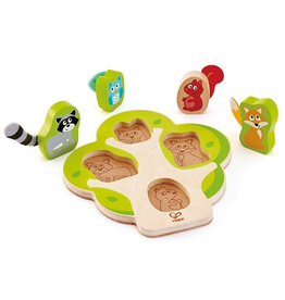 Hape Toys Who's In The Tree Puzzle