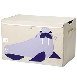 3 Sprouts Walrus Toy Chest