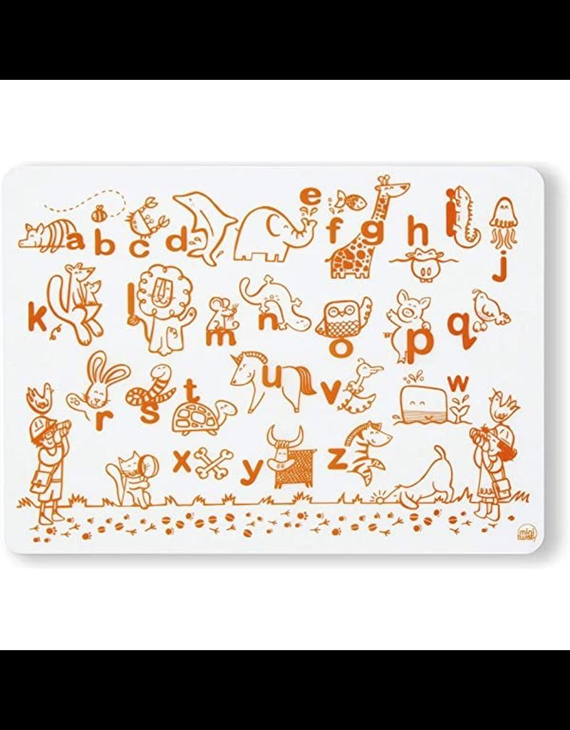 Silicone Doodle Mat: Alphabet Animals