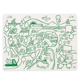 Silicone Doodle Mat: Transportation