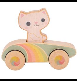Schylling Cruisin Kitty - Rainbow Roller