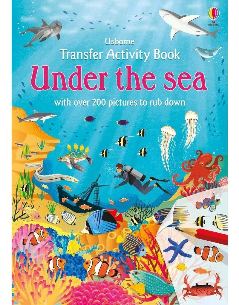 Usborne Little Transfer Book Under The Sea