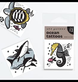 Wee Gallery Temporary Tattoos - Ocean