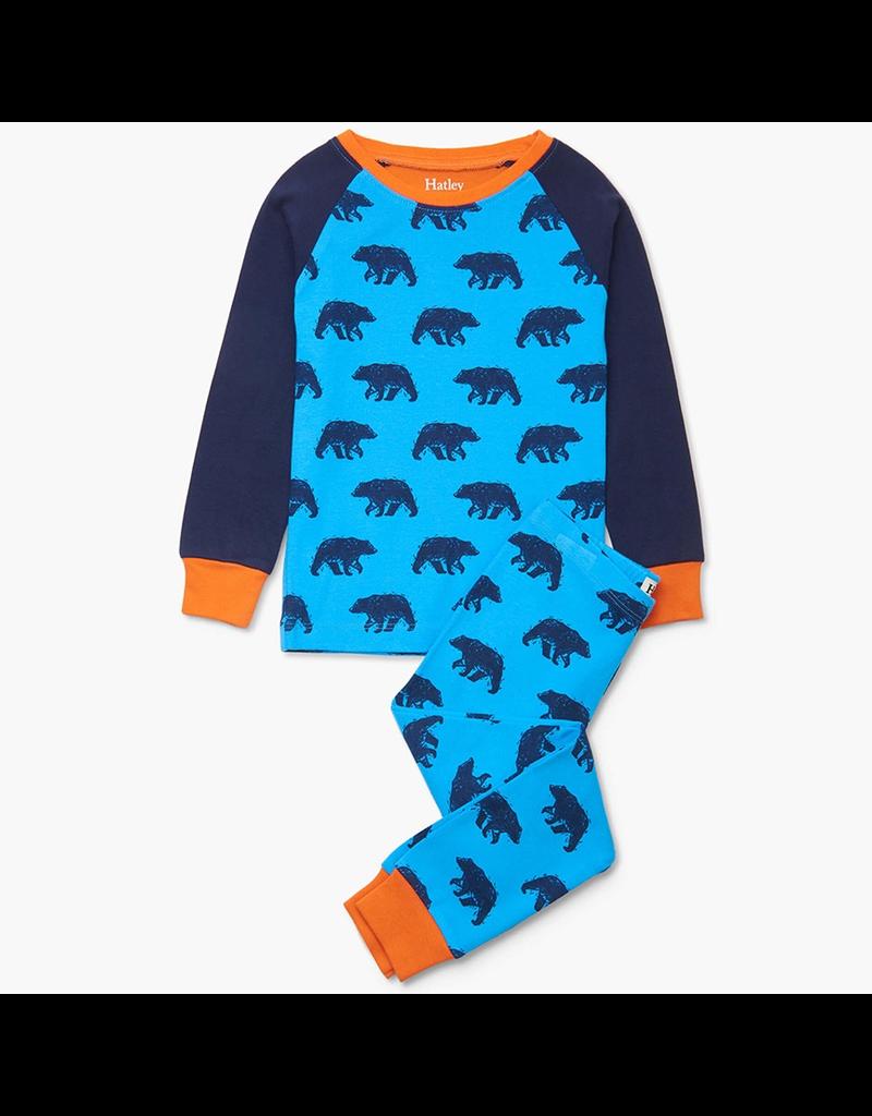 Hatley Blue Bears Organic PJs