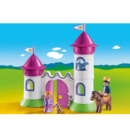Playmobil 1.2.3. Castle with Stackable Towers