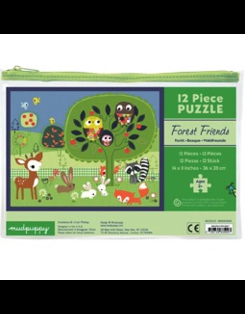 Mudpuppy 12 Piece Puzzle - Forest Friends