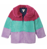 Hatley Faux Fur Jacket Size 2