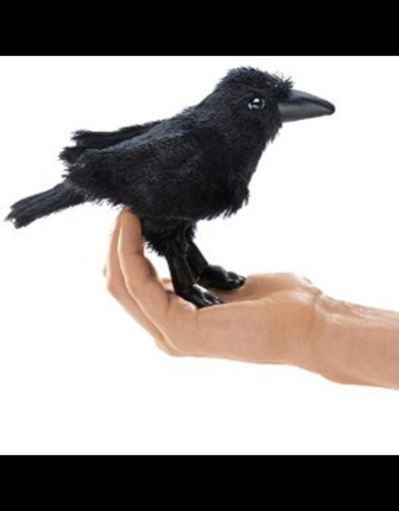 Folkmanis Finger Puppet - Raven