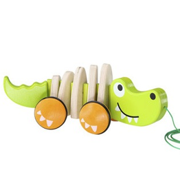 Hape Toys Walk-A-Long Croc