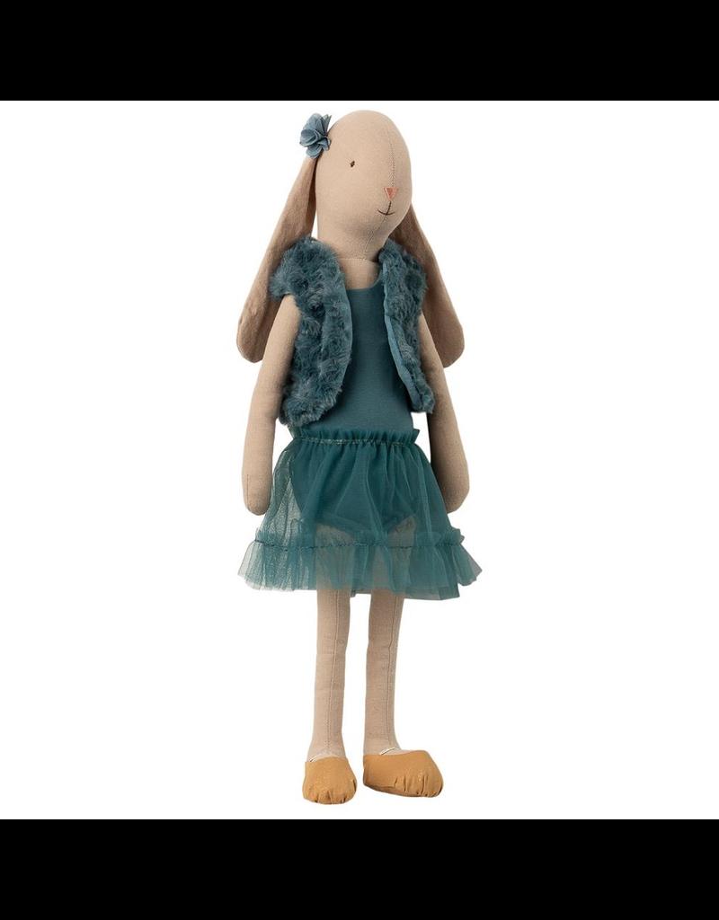 Maileg Bunny Ballerina, Size 4, Petrol