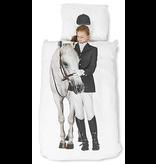 Snurk Twin Duvet Cover + Pillow - Equestrian