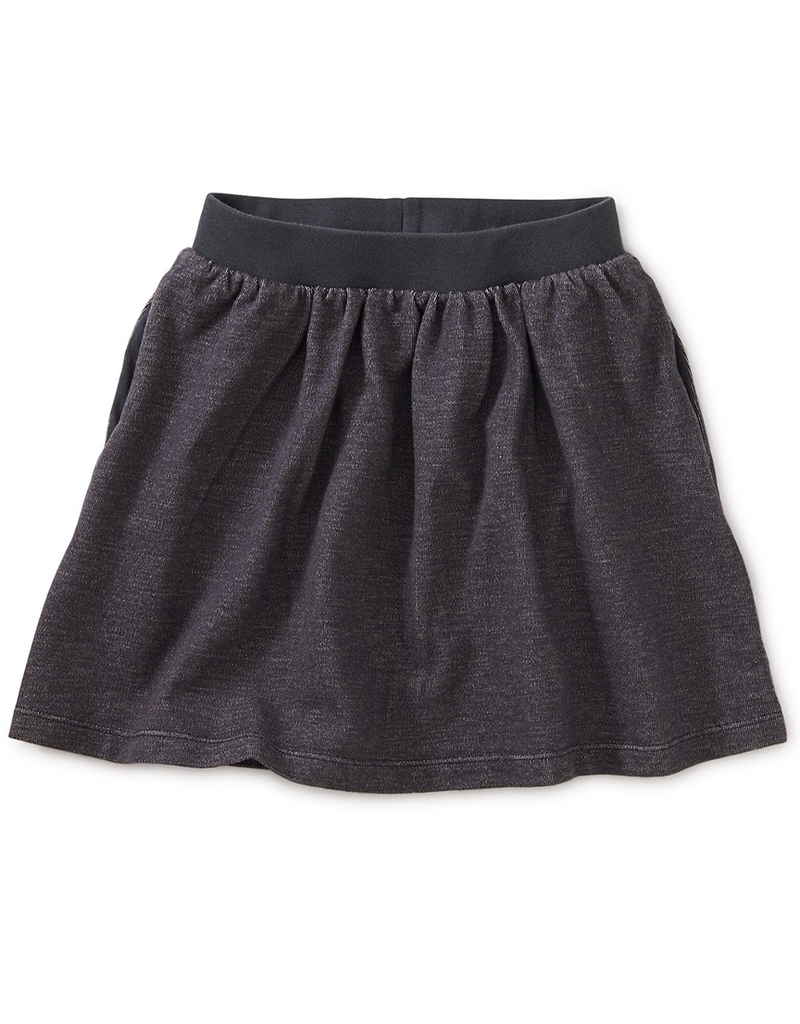 Tea Collection Denim-Like French Terry Skirt