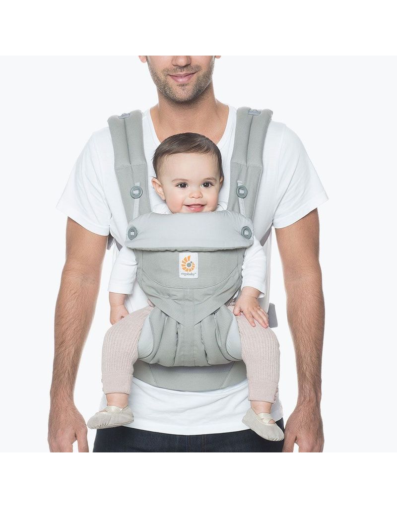 360 All Positions Baby Carrier Pearl Grey