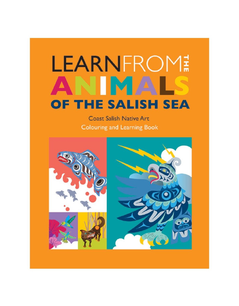 Native Northwest Colouring Book: Learn from the Animals of the Salish Sea