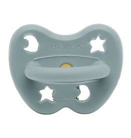 Hevea Natural Rubber Pacifier 3-36m - Winter Sky Orthodontic