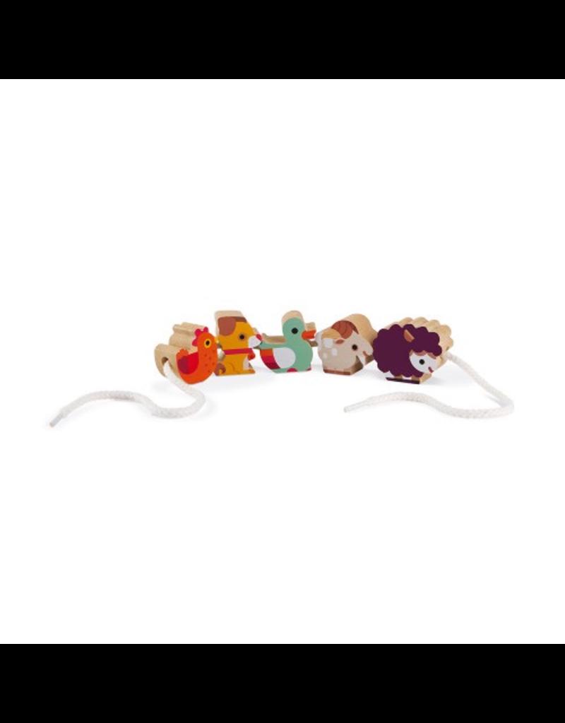 Janod Farm Threading Beads