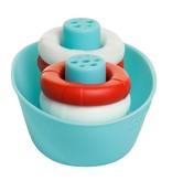 Ubbi Boat + Buoys Bath Toys