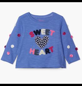 Hatley Sweet Heart LS Baby Tee 6-9m