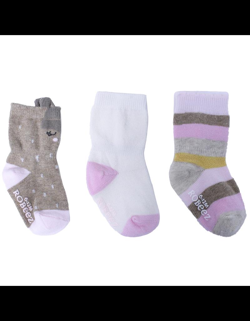 Girl's Sock 3pk - Faye