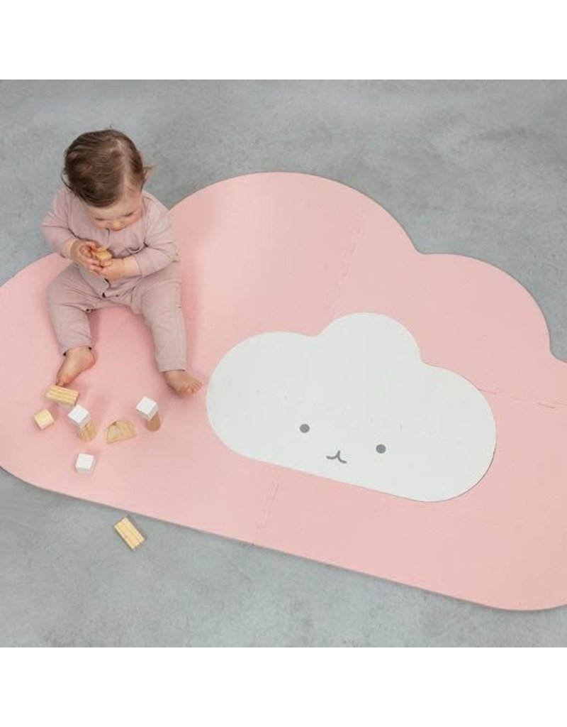 Head in the Clouds Playmat (Sm) - Blush Rose