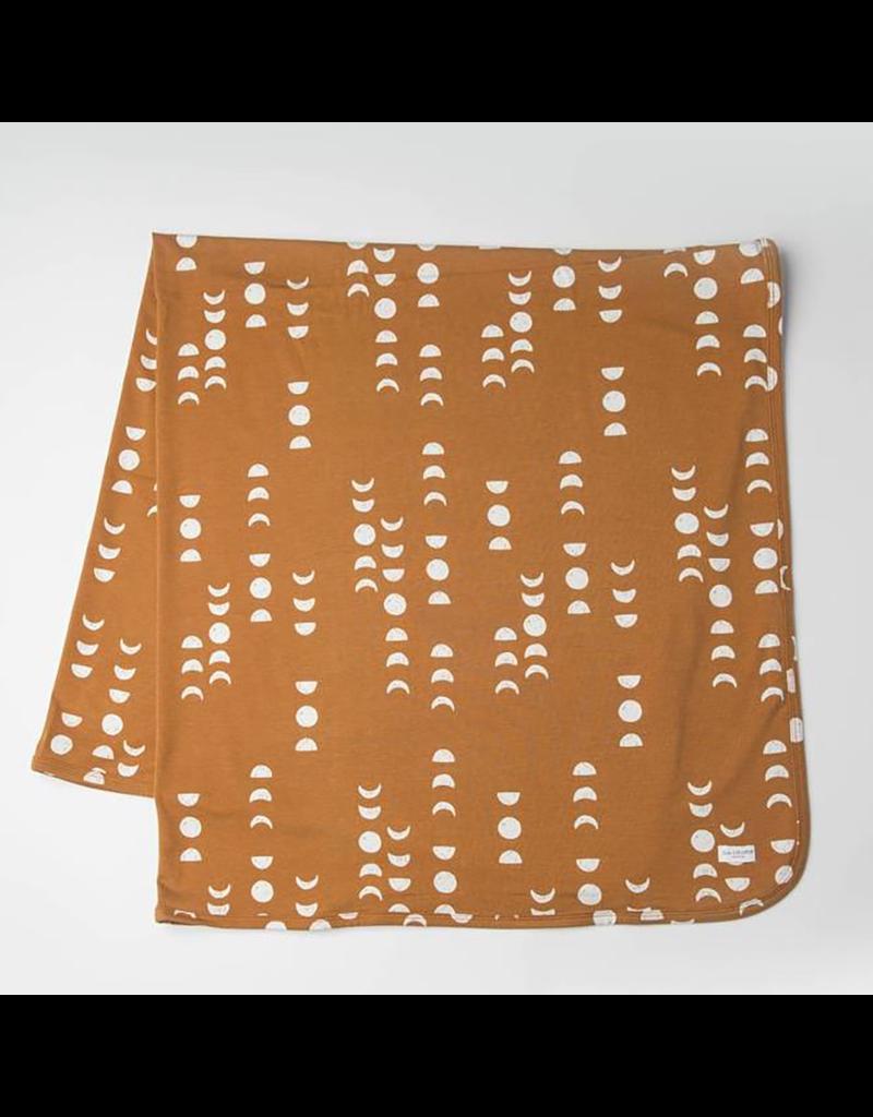 Loulou Lollipop Stretch Knit Blanket in TENCEL™ - Moon