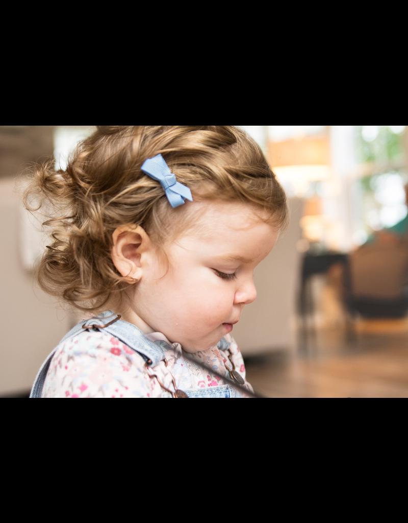Baby Wisp Chelsea Bows Snap Clip Little Miss 5pk