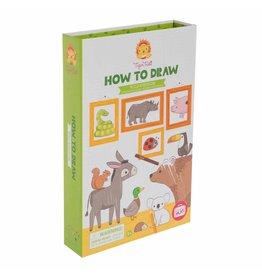 Schylling Wild Kingdom - How To Draw