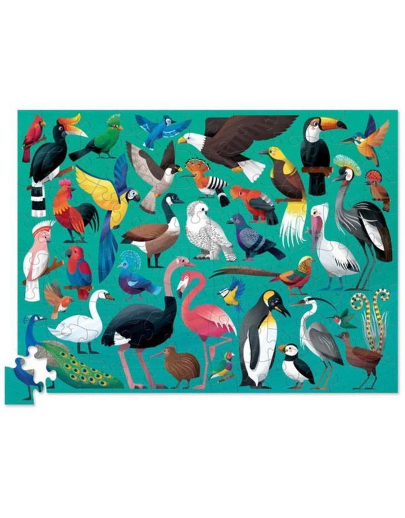 Crocodile Creek 100pc Puzzle - 36 Birds of the World