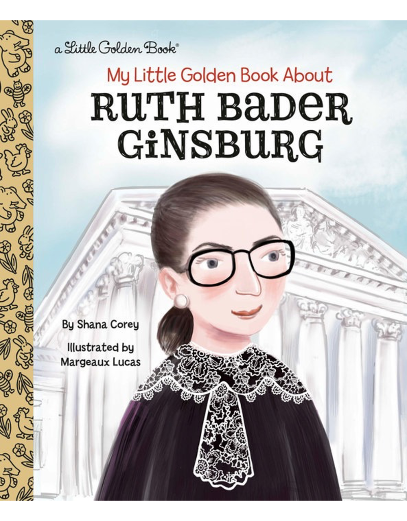 Random House My Little Golden Book About Ruth Bader Ginsburg