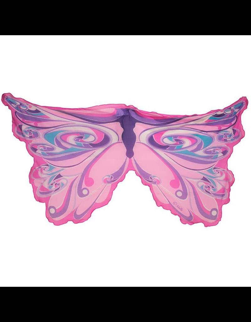 Rainbow Fairy Wings, Pink