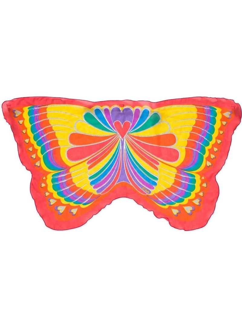 Rainbow Butterfly Wings, Red
